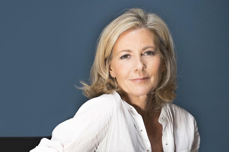 Claire Chazal by Thomas Vollaire Photographe